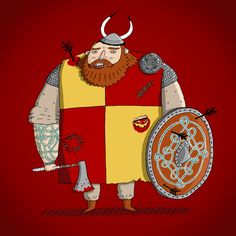Viking - Character Design by Curtis Rosenthal