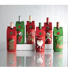 Felt Wine Bottle Holders Could They Be Made Out Of Thick Paper