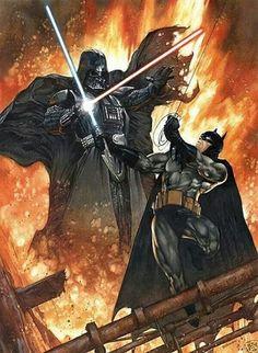 The Dark Knight versus The Dark Side!