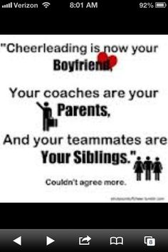 So true!! Cheer us my life and I don't know what I would do with out it!