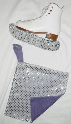 Ice Skating Blade Soakers with matching Skate Towel