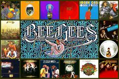 Bee gees discography artworks