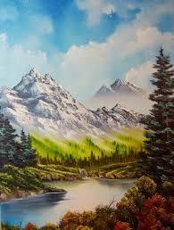 pinturas de paisajes con animales - Buscar con Google