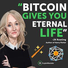 """After many rounds of banter between JK Rowling and Crypto Twitter JK Rowling tweeted,  """"Hours and hours of 'you don't have to trust a bank' and 'it can't be manipulated by governments' and not a single one of you thought to mention that BITCOIN GIVES YOU ETERNAL LIFE,"""" she wrote. Euro, Mariana Islands, Florida Georgia, North Dakota, New Hampshire, West Virginia, Nebraska, Wyoming, New Mexico"""