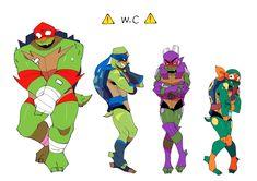 Ninja Turtles Art, Teenage Mutant Ninja Turtles, Tmnt Swag, Leonardo Tmnt, Tmnt Comics, Fanart, Mikey, Animated Icons, Cartoon Crossovers