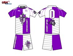 Holy Cross Rugby Uniform Design USA Rugby Club