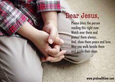 Dear Jesus | Prohealthlaw