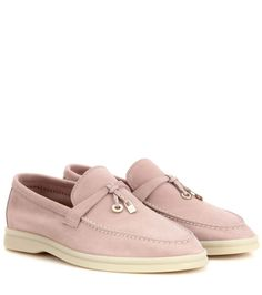 mytheresa.com - Summer Charms Walk suede loafers - Luxury Fashion for Women / Designer clothing, shoes, bags