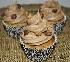Belle cupcakes: CUPCAKES DE CHOCOLATE Y CARAMELO