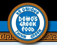 Demos Greek Restaurant is the greasy fast food version of Greek food. The location off of St. Mary's is right across from the Greek church