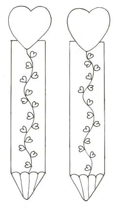 Bookmarks for VDay Creative Bookmarks, Diy Bookmarks, Corner Bookmarks, Free Printable Bookmarks, Bookmark Template, Colouring Pages, Coloring Sheets, Coloring Books, Felt Crafts