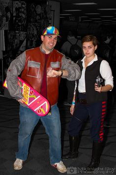 #MartyMcFly from #BackToTheFuture and #HanSolo from #StarWars #Cosplay from #SteelCityCon #ComicCon ----- Check out more of my photography @ http://www.facebook.com/MidnightSkyPhotography (Link in Profile) ----- #MidnightSkyPhotography #MidSkyPhoto