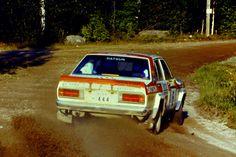Timo Salonen - Seppo Harjanne 31st 1000 Lakes Rally 1981 (Datsun Violet GT)
