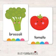 DESCARGAR fruta & verduras tarjetas de Flash automático