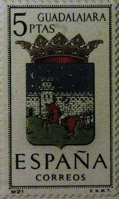 Sellos - Escudos Heráldicos - Guadalajara