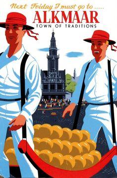 Affiche #kaasmarkt van Alkmaar. #cheesemarket #cheese