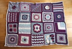 Fiber Flux...Adventures in Stitching: The Blog Hop Crochet Along Afghan Giveaway!