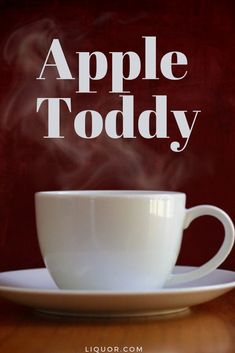 This apple toddy is just the hot bourbon drink your fall needs. If the campfire doesn't warm you up this campfire cocktail sure will! Thanksgiving Cocktails, Festive Cocktails, Halloween Cocktails, Christmas Cocktails, Thanksgiving Side Dishes, Thanksgiving Recipes, Valentine's Day Drinks, New Years Cocktails, Toddy Recipe