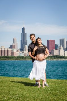 Maternity, Chicago Skyline