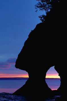 Hopewell Rocks, New Brunswick, Canada    Hopewell Rocks at Sunrise - Hopewell Rocks Prov Park New Brunswick Canada...so beautiful here and the tide gets SUPER high!!
