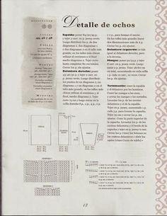 Patrón #360: Chaleco detalle de ochos a Dos Agujas | CTejidas [Crochet y Dos Agujas]
