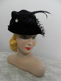 Vintage 1930s Hat