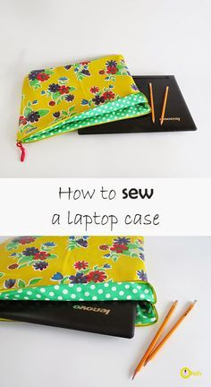 Ohoh Blog - diy and crafts: How to sew a laptop case