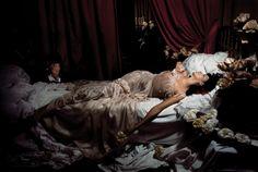 "lelaid:  ""Farida Khelfa in The Agony of Marguerite Gautier by Jean-Paul Goude, Paris, 1992  """