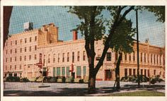 Crawford Hotel, Carlsbad, New Mexico NM