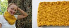 DIY Loopschal stricken für Anfänger von Schoenstricken - DaWanda Blog