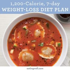 You're just 7 days from a slimmer you with this easy, healthy meal plan!