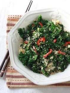 Coconut-Ginger Kale - Vegan