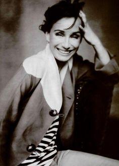 Kristin Scott Thomas for Giorgio Armani's Spring 2003 ad campaign   photo: Paolo Roversi