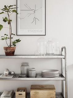 A Great Scandi Alternative to the China Cabinet
