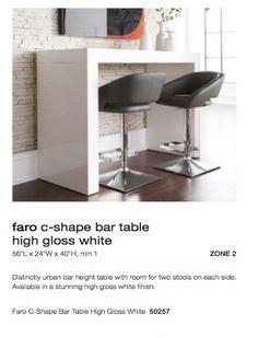 Bar-height Table