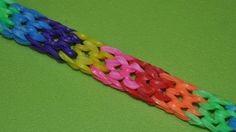 Толстая коса(fashionable ) - новинка. Самый модный и красивый браслет. ОЧЕНЬ ПРОСТО. БЕЗ СТАНКА, для начинающих. Простой браслет из резинок и застежек без станка для начинающих Rainbow Loom fashionable . Простота Вас поразит и займёт минимум Вашего времени. Зато подарок fashionable  подружке или маме будет готов).