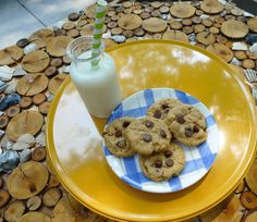 Our Peanut Butter Chocolate Chip Cookies.  Photos courtesy of Akron Ohio Moms.