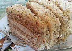 Az igazi klasszikus diótorta | Jucus receptje - Cookpad receptek Krispie Treats, Rice Krispies, Naan, Vanilla Cake, Banana Bread, Cooking, Recipes, Food, Kitchen