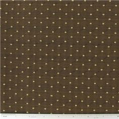 """Brown Diamond Home Decor Fabric is 55"""" wide and 46% polyester, 45% rayon & 9% cotton.    CARE INSTRUCTIONS - Dry Clean Only.    Available in 1-yard increments. Average bolt size is approximately 14 yards. Price displayed is for 1-yard. Enter the total number of yards you want to order."""