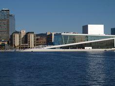 The world famous opera house in Oslo. World Famous, Oslo, Opera House, Skyscraper, Multi Story Building, Travel, Skyscrapers, Viajes, Destinations