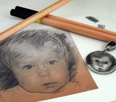 Custom Made Photo Shrink Plastic Shrinky Dink by theotherstacey
