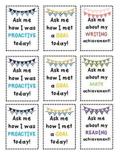 Like the idea of encouraging students to be proactive.
