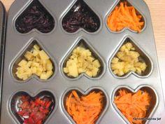 Muffin kalıbında Sebzeli Omlet Tarifi http://kendimutfagindasef.com/?p=3993  #kahvalti #omlet #nefiskahvaltı #yumurta