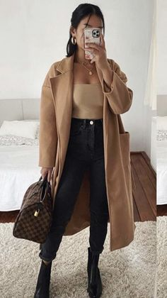 Cute Fall Outfits, Casual Winter Outfits, Winter Fashion Outfits, Spring Outfits, Mode Outfits, Stylish Outfits, Elegantes Outfit, Professional Outfits, College Outfits