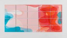 Peter Zimmermann's Immersive Art Installation With Coloured Epoxy Resin Floor.