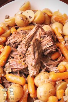 Pot Roast--I forgot the oregano, but this was a real winner.