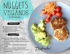 Unos nuggets diferentes pero ricos y #saludables. #Hogaressauce.