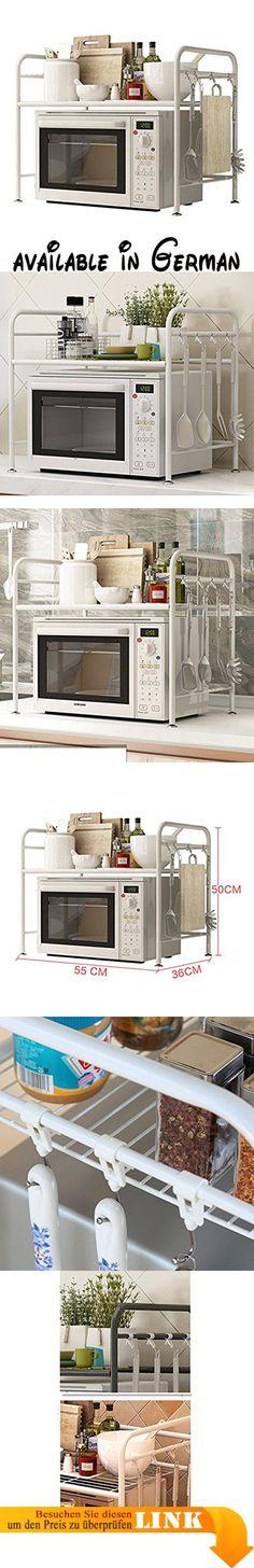 B074P8QCT7  LI JING SHOP - 4-Tier-Küche Landing Shelf mit - küchenblock 260 cm