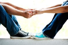 Cute way to show off the shoes and the ring
