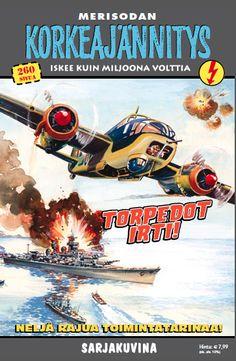 Korkeajännitys - Torpedot irti! #sarjakuva #sarjis #egmont
